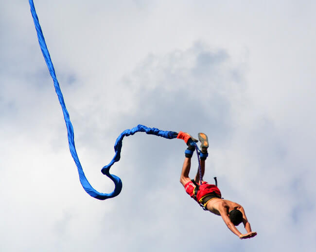 Bungee Jumping from €60